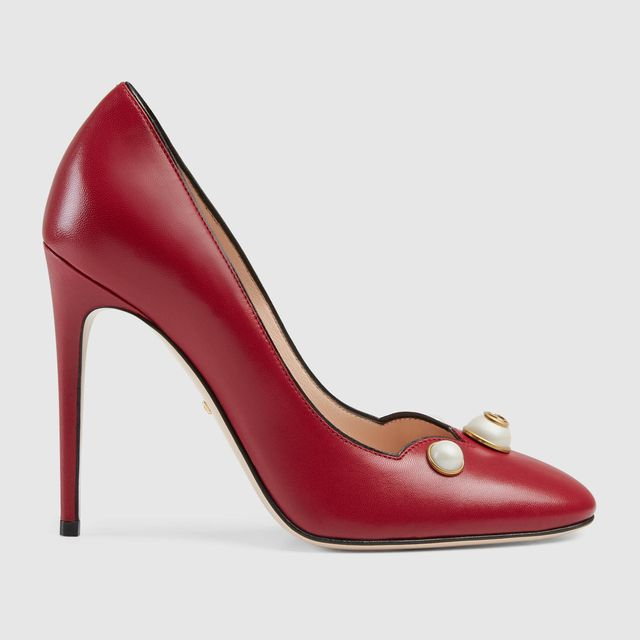Gucci Leather Pumps