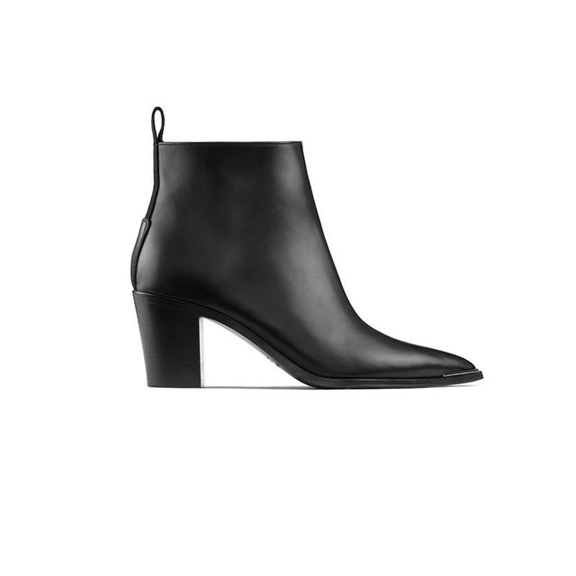 Acne Studios Loma Black Ankle Boots