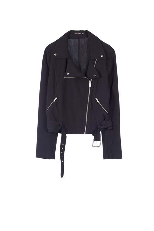 Kate Moss Roxana Moto Silk Jacket