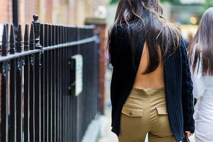 backless jumper trend