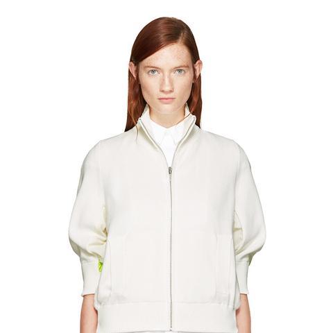 Off-White Knit Jacket