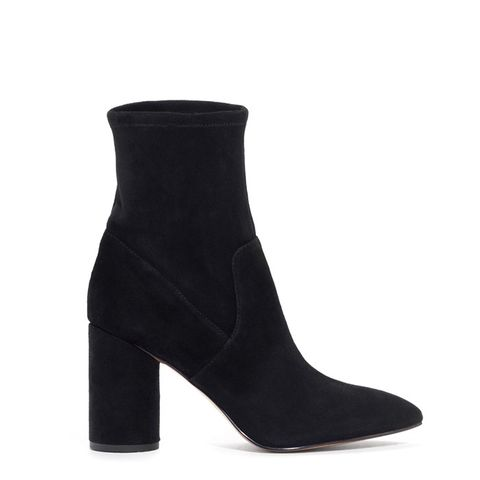 Suede Sock Boots