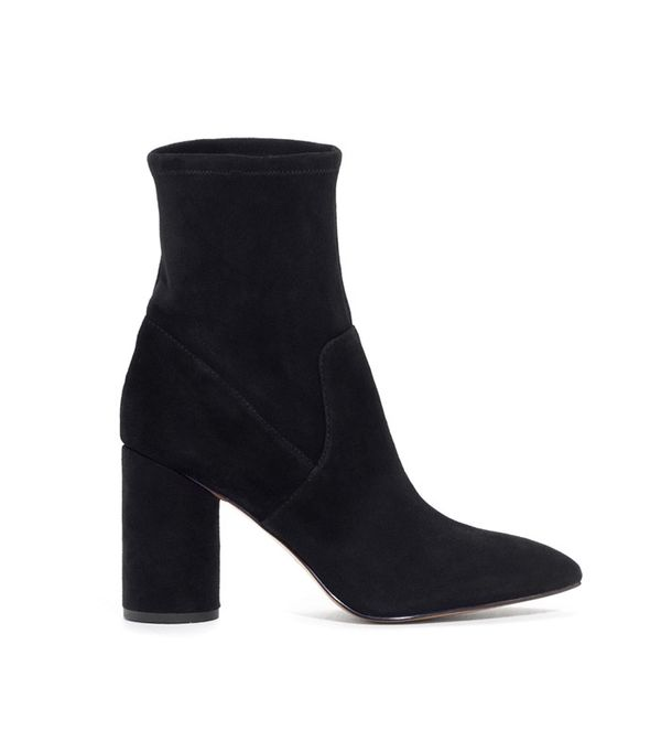 & Other Stories Suede Sock Boots