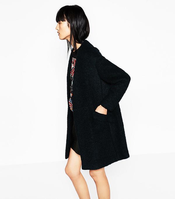 Zara Mohair Coat