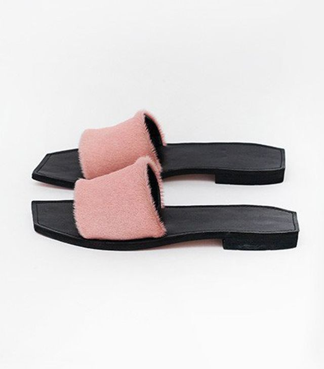 Parme Marin Si Chic Slides