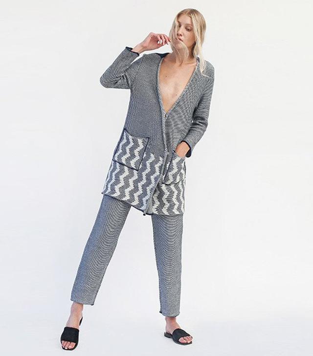 Ksenia Seraya Toni Knit Suit
