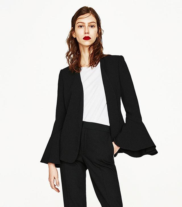 Zara Bell Sleeve Jacket