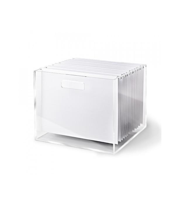 Russel + Hazel Acrylic File Box