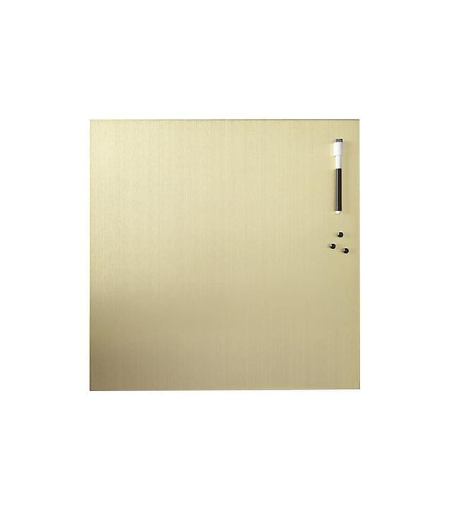 CB2 Dry Erase Board