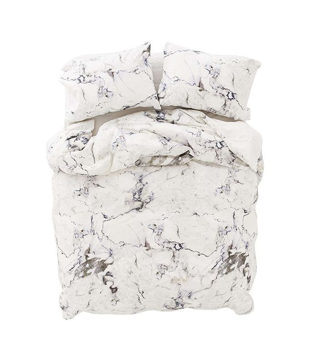 Urban Outfitters Assembly Home Marble Duvet Cover