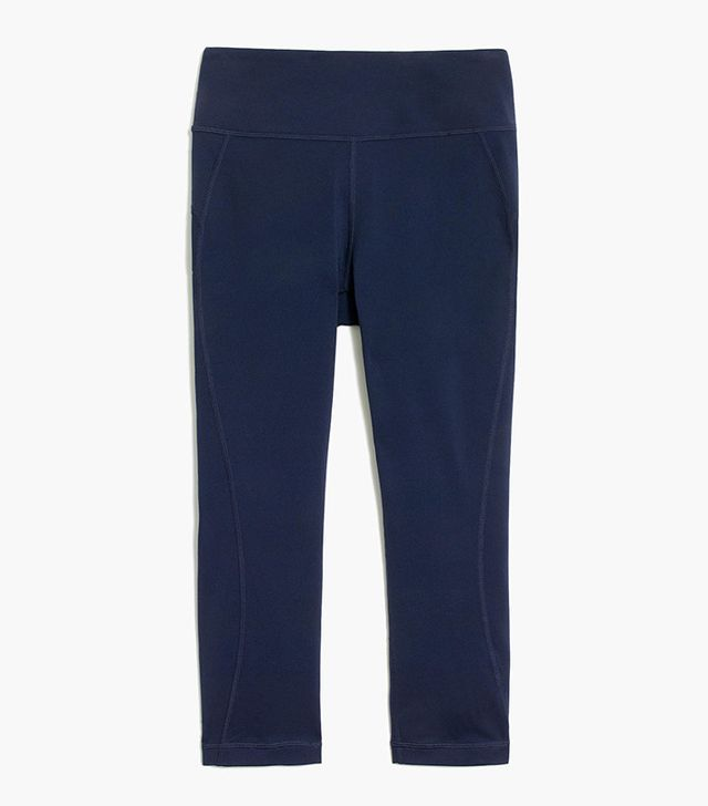 New Balance for J.Crew High-Waisted Performance Crop Leggings