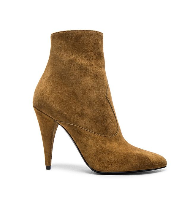 Saint Laurent Suede Fetish Boots