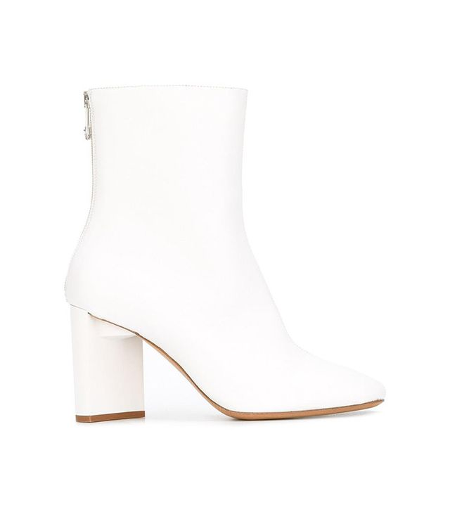 Maison Margiela Block Heel Ankle Boots