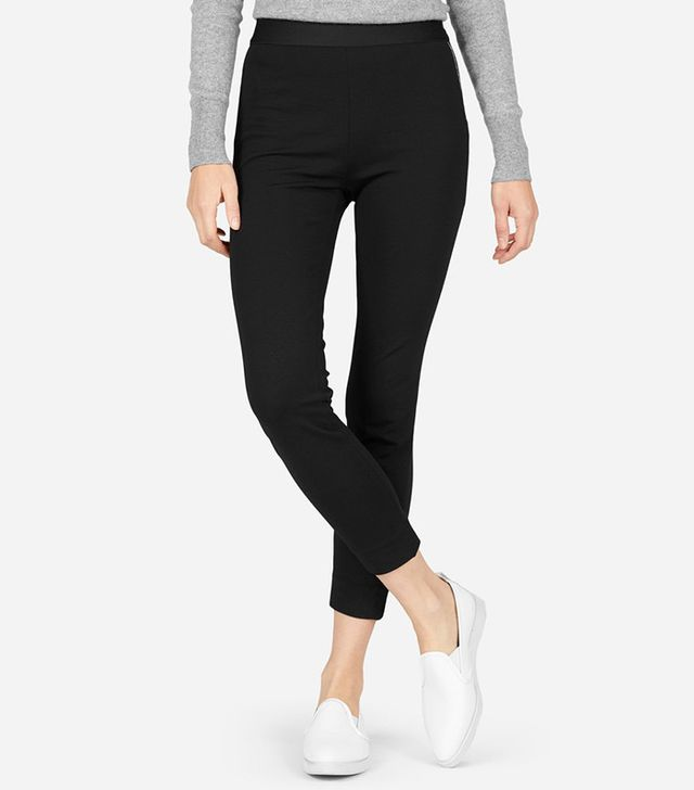 Everlane The Stretch Ponte Crop Pants