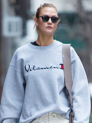 Supermodels Can't Stop Wearing This Sweatshirt