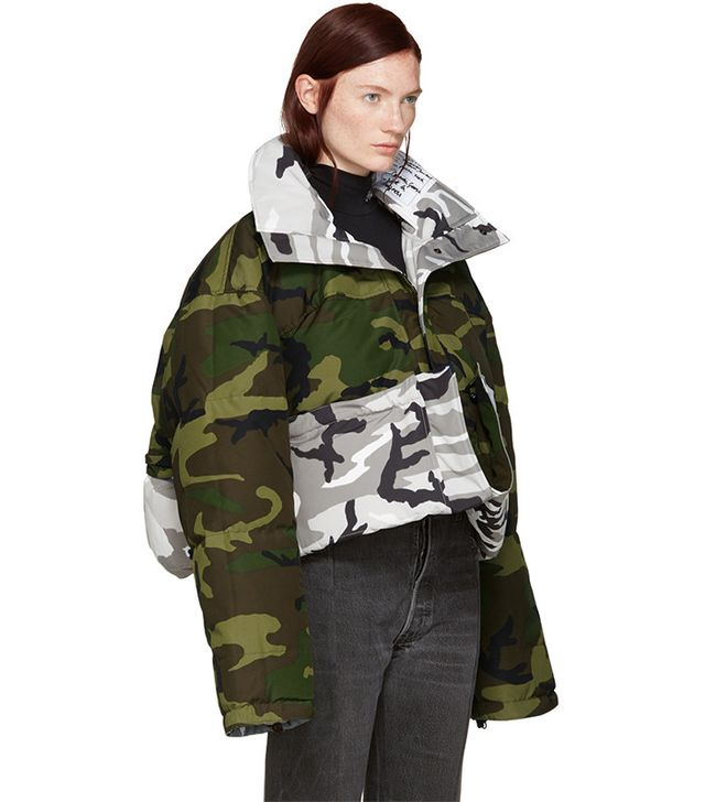 Vetements x Canada Goose Reversible Camouflage Parka