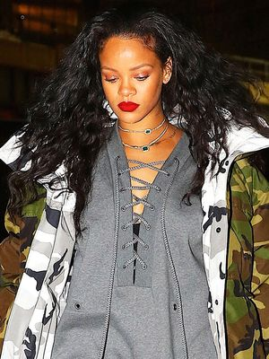 Rihanna's Going-Out Look Will Actually Keep You Warm