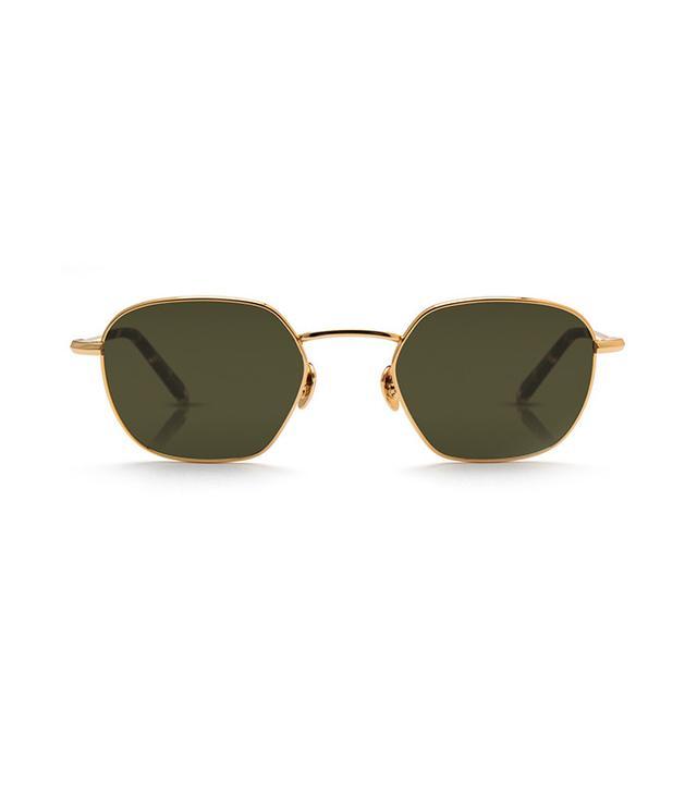 Krewe Ward 24k Titanium + Zulu Sunglasses