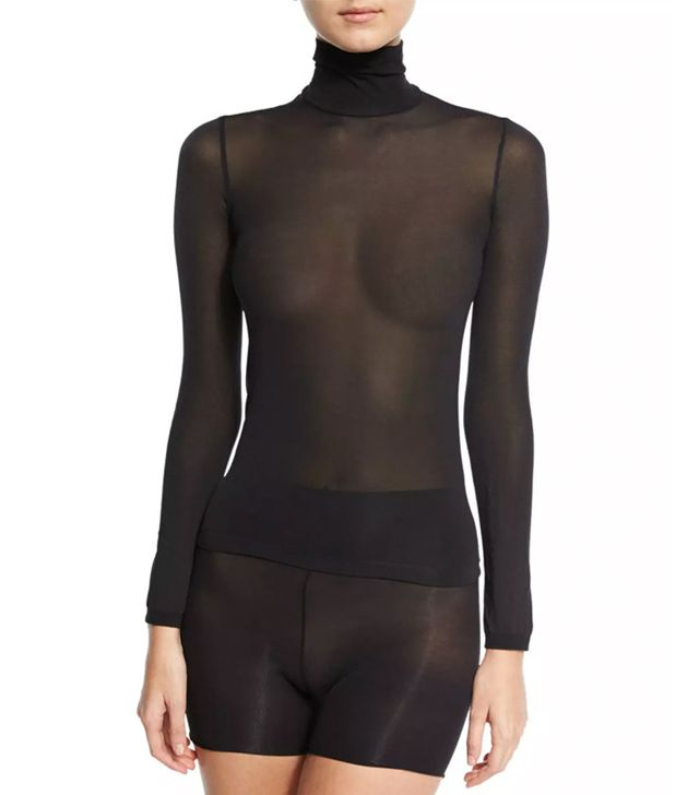 Wolford Amsterdam Turtleneck Pullover Top