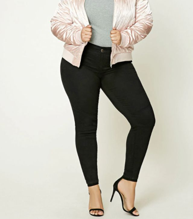 Forever21 Plus-Size Mid-Rise Jeans