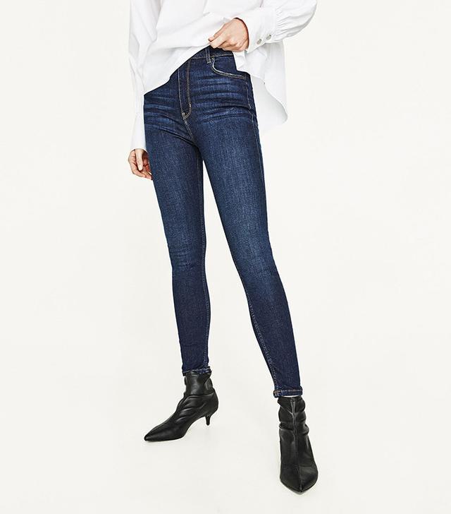 Zara High-Rise Skinny Jeans