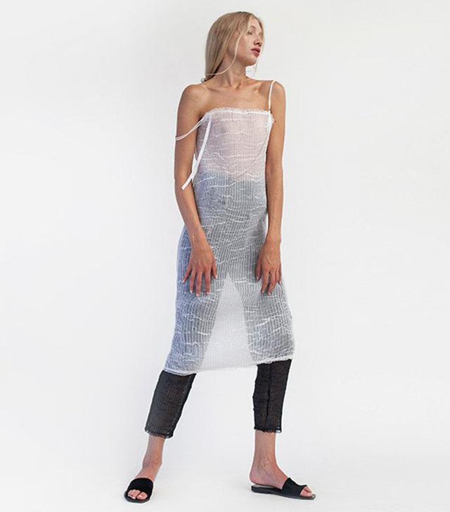Kahle Pleated Sheath Dress