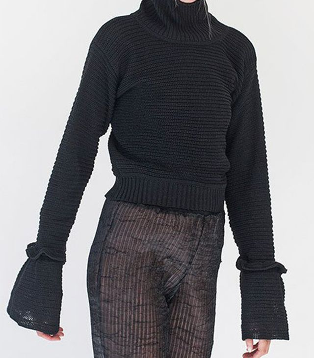 Chakshyn Funnel Knit Sweater