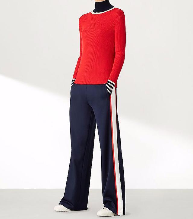 Tory Sport Wide-leg Track Pants