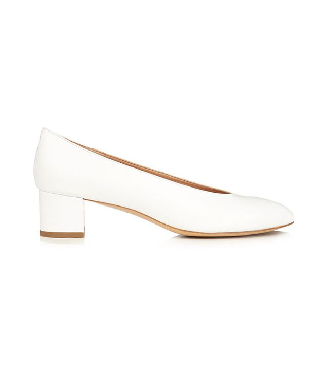 Mansur Gavriel Ballerina leather pumps