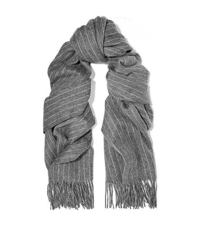 Rag & Bone Pinstriped Merino Wool Scarf