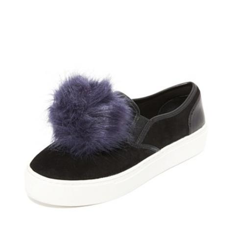 Sloane Pom Pom Sneakers