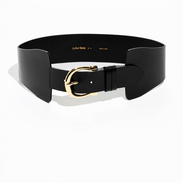 Best over 40 fashion bloggers: & Others Stories Waist Buckle Belt