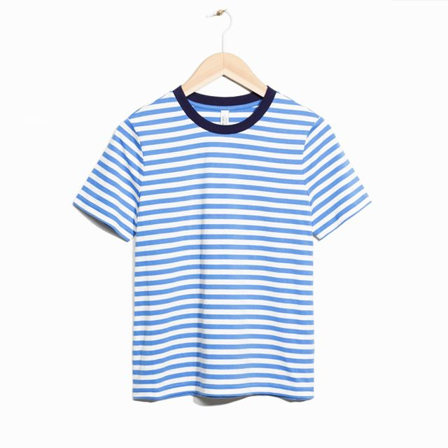 Best over 40s fashion bloggers: & Other Stories Striped Top