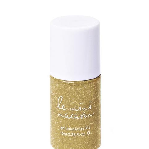 Gel Polish in Gold Glitter