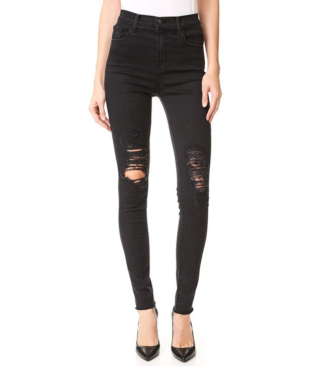 J Brand Carolina High-Rise Jeans