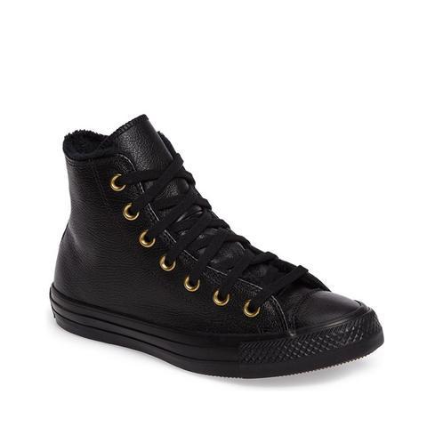 Chuck Taylor All Star Faux Fur High Top Sneaker