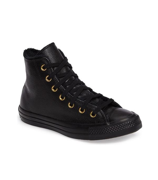 Converse Chuck Taylor All Star Faux Fur High Top Sneaker