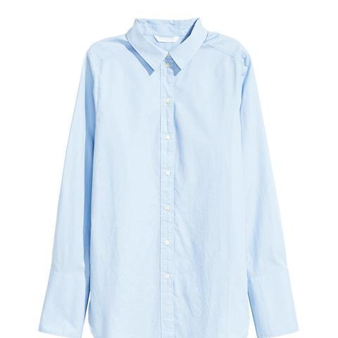 Wide-Cute Cotton Shirt