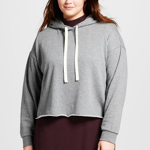 Women's Plus Size Deconstructed Hoodie