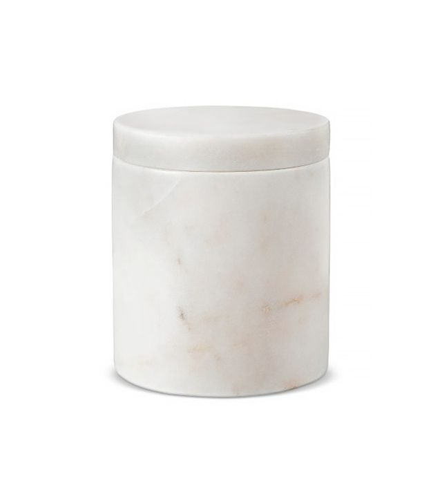 Target Marble Canister White