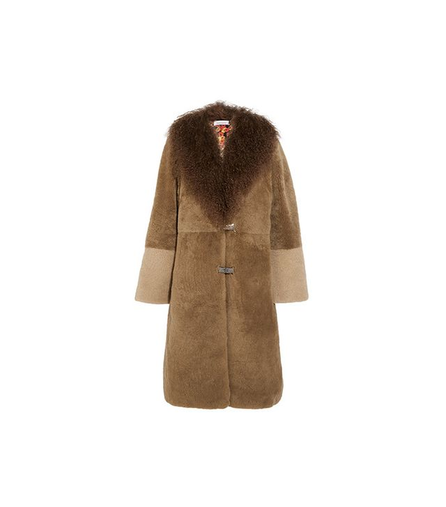 Saks Potts Febbe Bertha Shearling Coat