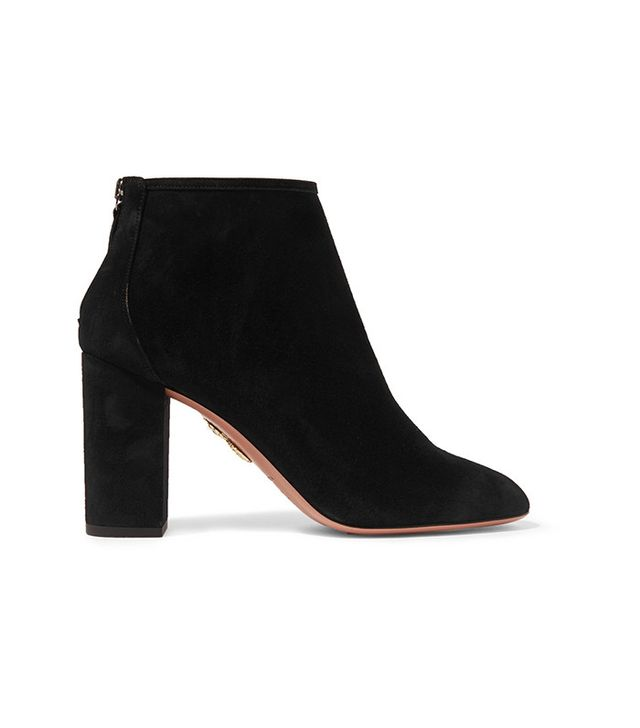 Aquazzura Downton Suede Ankle Boots