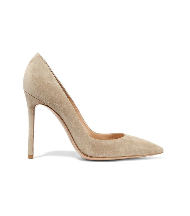 Gianvito Rossi 1-5 Suede Pumps
