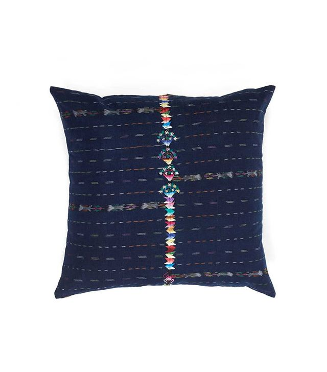 cute woven pillows