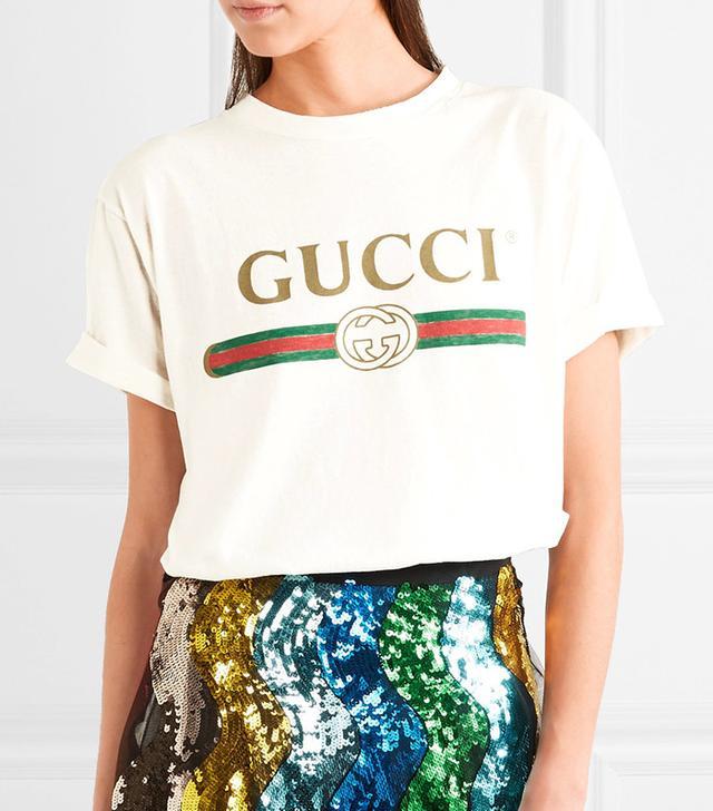 Gucci Appliqued T-Shirt