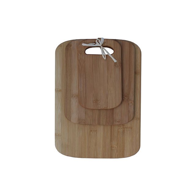 Oceanstar Cutting Board Set (3 Pieces), Bamboo