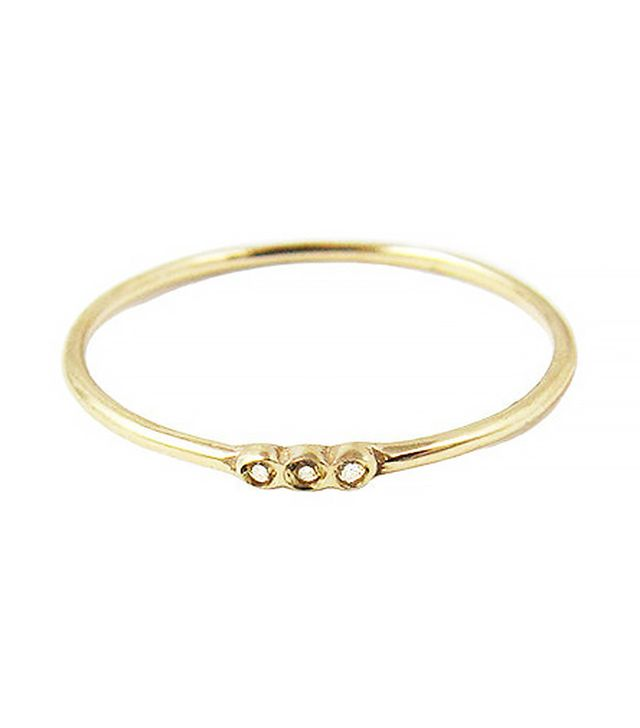 Jennie Kwon Designs Three Besel Ring