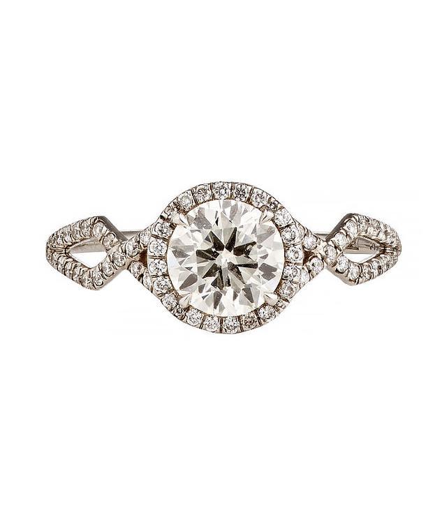 Monique Pean Mineraux Brilliant-Cut White Diamond Ring