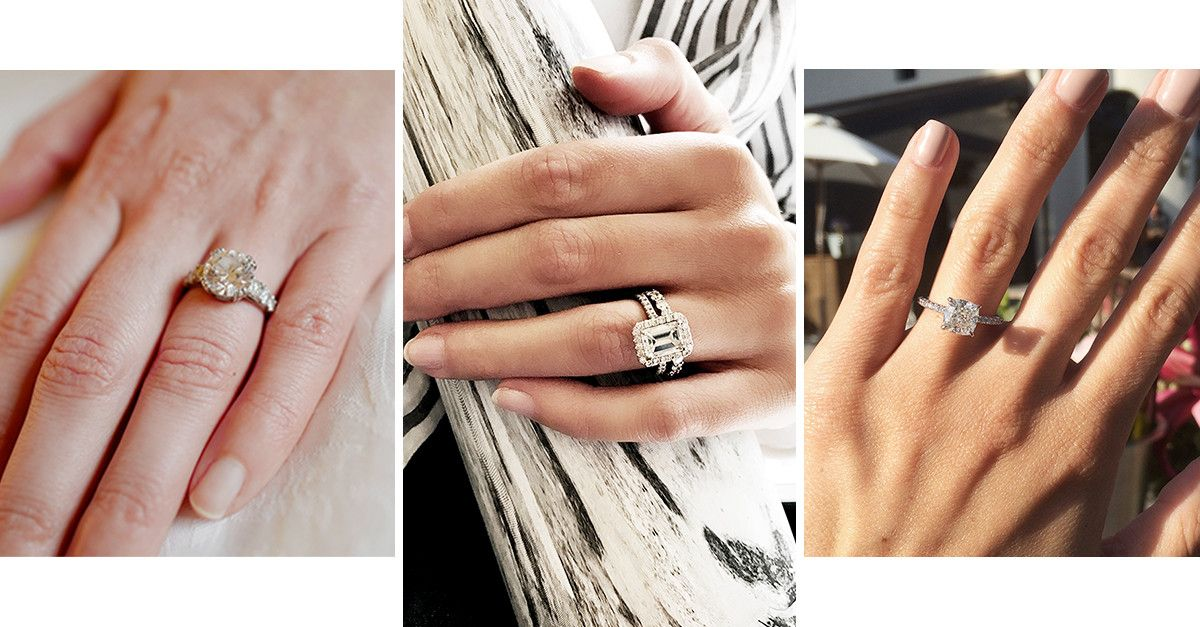 the diverse engagement rings from our own office whowhatwear