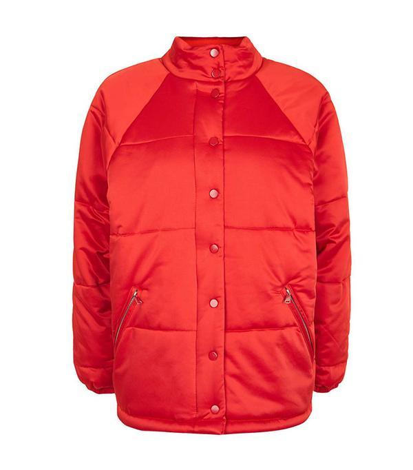 Topshop Oversized Puffer Jacket